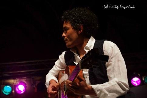 Angelo da Silva mit Celia Mara: Jazz Fest / Wien
