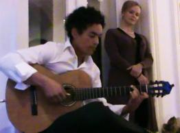 Angelo da Silva & Sopranistin Hege Gustava Tjonn: Beate van Haarten / Galerie am Lieglweg / Niederösterreich